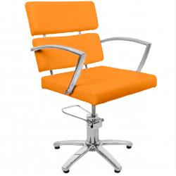 HAIR SYSTEM FOTEL FRYZJERSKI Q-006F orange