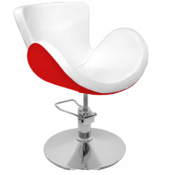 HAIR SYSTEM FOTEL FRYZJERSKI Q-003F white/red