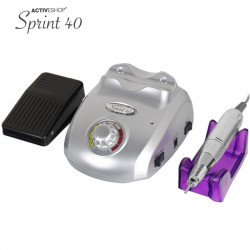 FREZARKA DO MANICURE MODEL SPRINT 40 SREBRNA