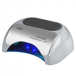 LAMPA PROFESSIONAL 2W1 UV LED+CCFL 48W TIMER+SENSOR SREBRNA